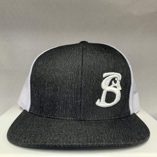 Original SB hat heather black and white