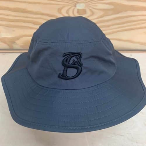 CHARCOAL GREY STACKIN BILLS DRAWSTRING BOONIE HAT
