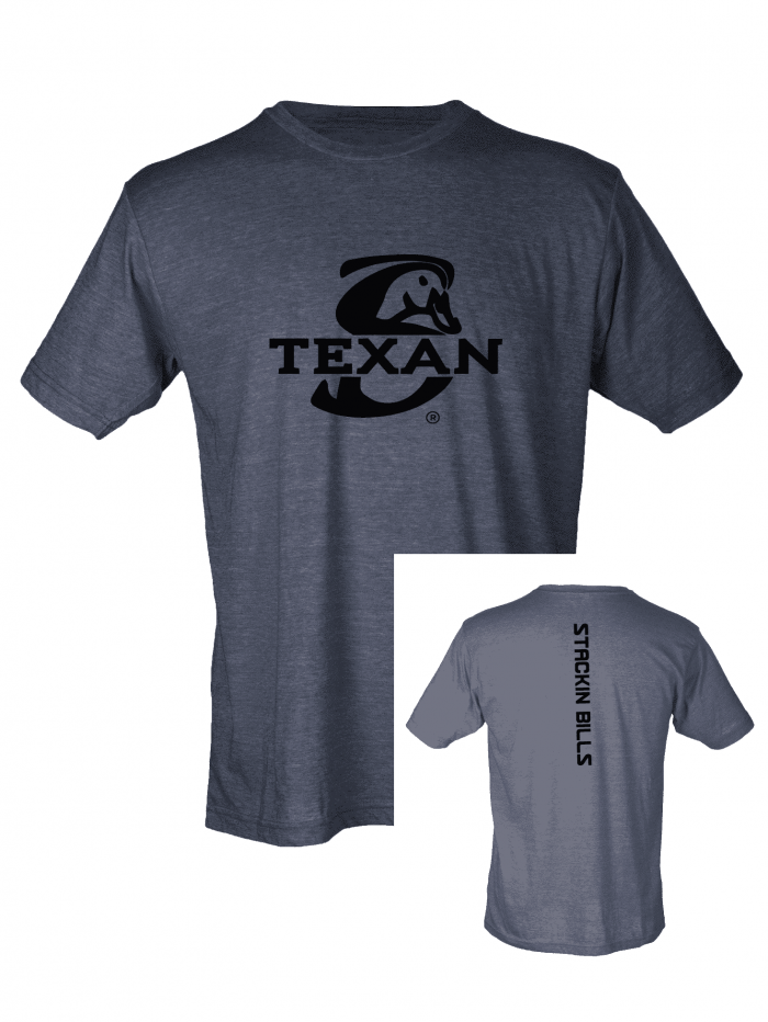 STACKIN BILLS TEXAN T-SHIRT