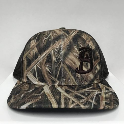 MOSSY OAK BLADES CAMO STACKIN BILLS HAT