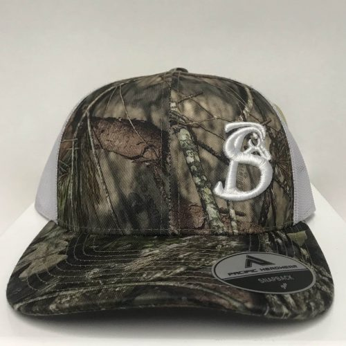 PACIFIC MOSSY OAK CAMO STACKIN BILLS HAT