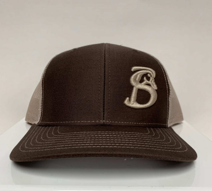 STACKIN BILLS OG SIDE LOGO HAT BROWN