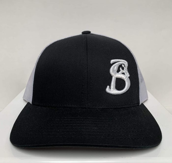 BLACK STACKIN BILLS HAT