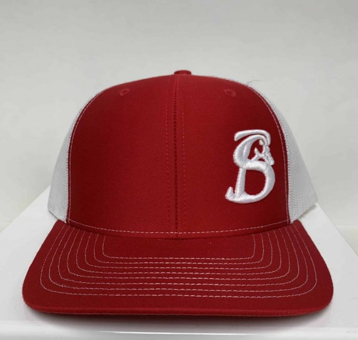 Red Stackin Bills Hat