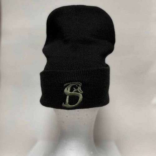 Black Stackin Bills Beanie