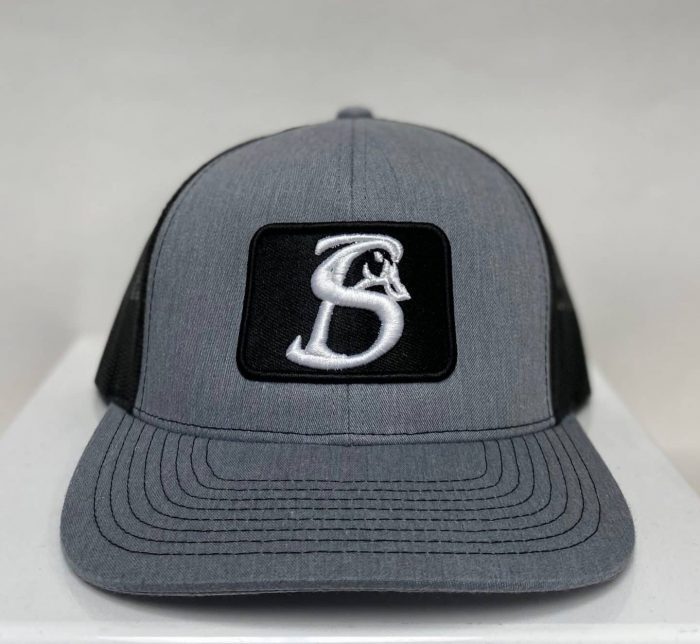 GREY SB PATCH HAT